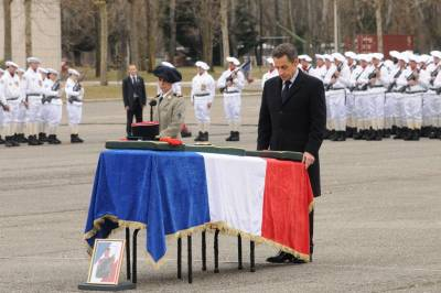 CEREMONIE D'HOMMAGE NATIONAL A VARCES