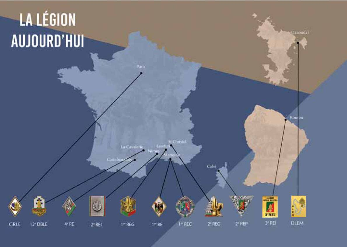 L'essentiel sur la Légion . 80-la-legion-aujourdhui