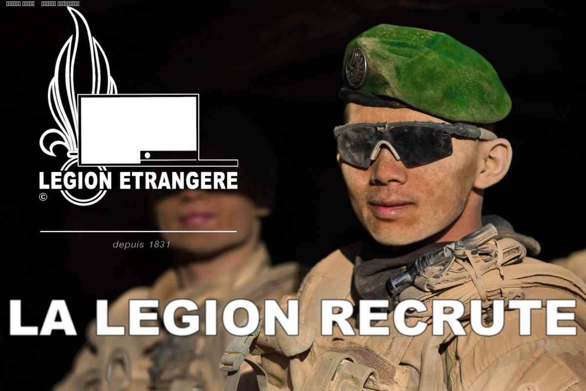 Recrutement Legion etrangere