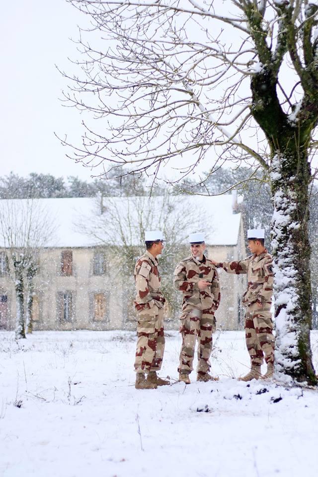 La 13e DBLE est devenu aujourd'hui un outil de combat Legion-etrangere-13dble-tenue-sable-et-neige-du-larzac